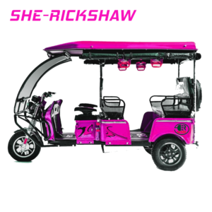 she rickshaw, electric rickshaw for women